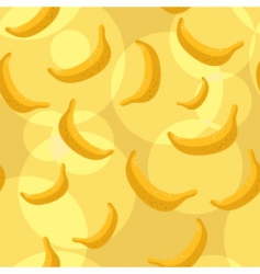 Bananas background vector