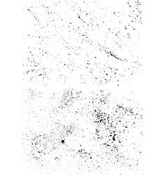 Full ink blots vector