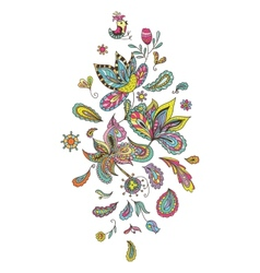 Indian decorative element vector