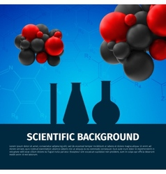 Scientific background vector