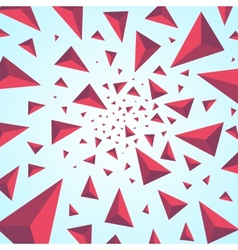 Explosion background with particles vector
