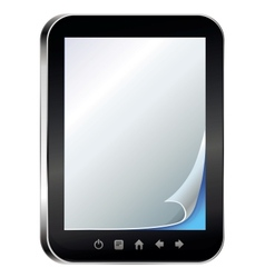 Ebook concept - vector