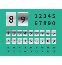 Arrival and departure scoreboard vector