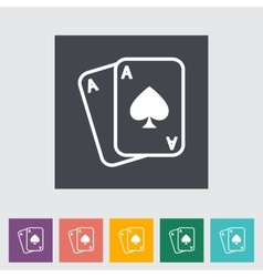 Play card vector