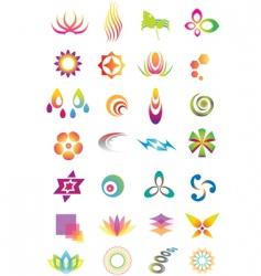 Logo design elements vector