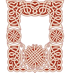 Nordic frame pattern vector