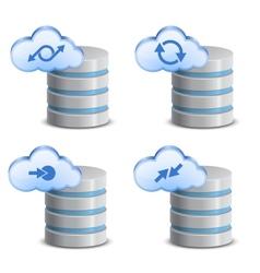On-line backup service vector