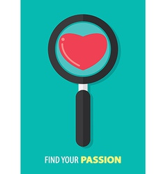 Find your passion vector