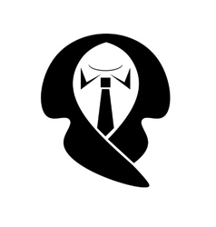 Business suit icon vector