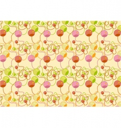 Beads pattern vector