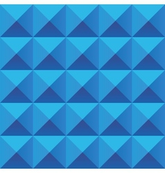 Abstract blue geometric squares seamless pattern vector