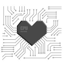 Heart cpu vector