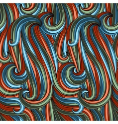 Abstract curves pattern vector