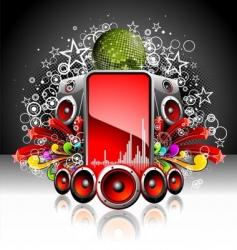 Dj music poster vector