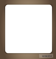 White note paper ready for your message vector