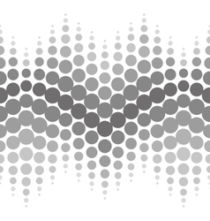 Halftone seamless pattern abstract dotted vector