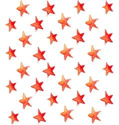 Seamless watercolor stars pattern vector