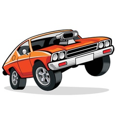 Muscle car vector
