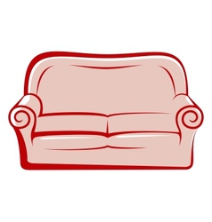 Abstract sofa vector
