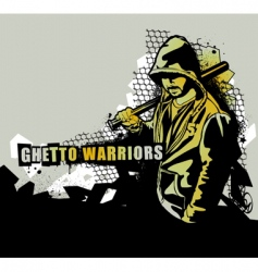 Ghetto warriors vector