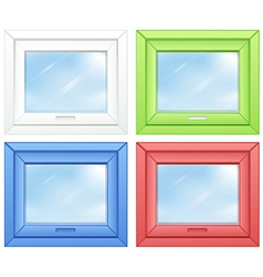 Door windows vector