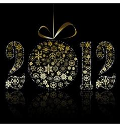 New year 2012 symbol vector