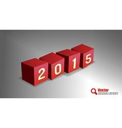 2015 cubes vector
