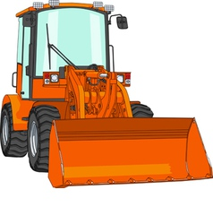Bulldozer vector