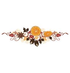 Autumn decoration vector
