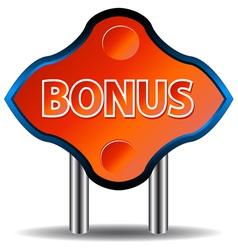Unique bonus icon vector