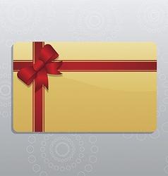 Giftcard vector