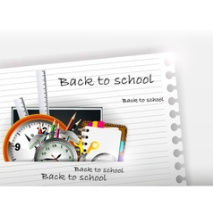 School supplies for you design vector