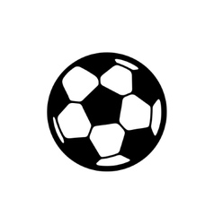 Football ball icon vector