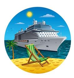 Island journey vector