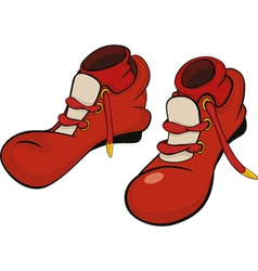 Boots for the clown vector