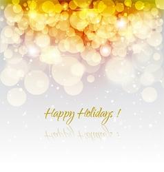 Holiday greeting card vector