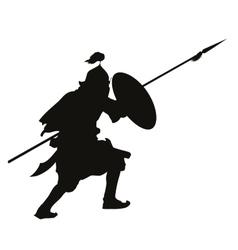 Oriental warrior vector