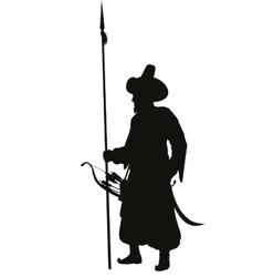 Turkish spearman warriors theme vector