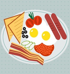 Breakfast vector