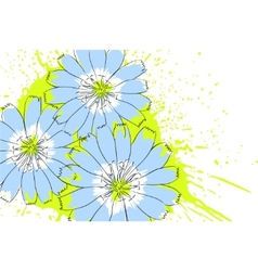 Nature flower vector