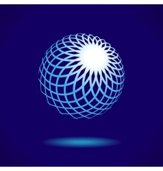 Abstract sphere vector