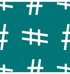 Hesh tag web icon flat design seamless pattern vector
