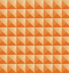 Triangle orange jewel texture seamless background vector