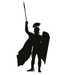 Roman warriors theme vector