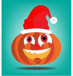 Orange pumkin vector