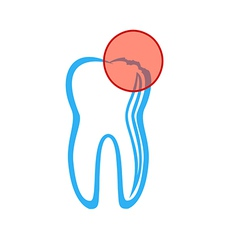 Dentist symbol vector