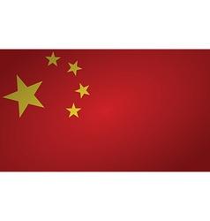 China flag vector