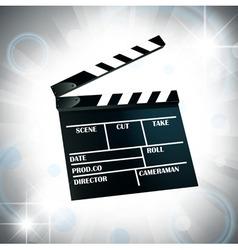 Film cracker vector