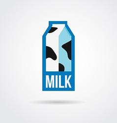 Milk logo design vector