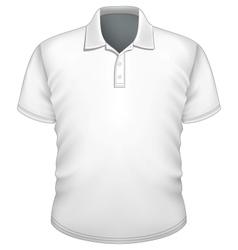 Mens polo-shirt design template vector